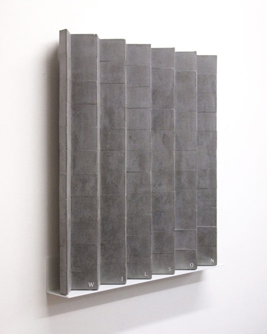 LINCOLN / WILSON60 x 55 x 7 cm | cast concrete mounted on aluminium shelf | edition of 3 + 1AP | 2016